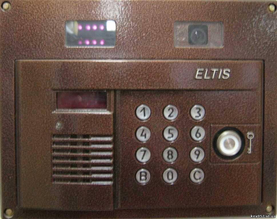 Открыть домофон eltis